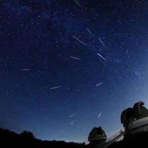 ペルセウス流星群を観たい!