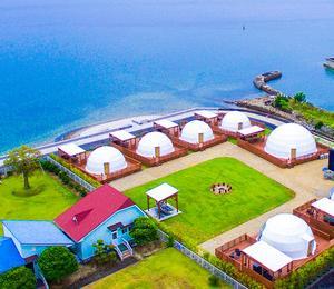 生口島にもグランピング施設オープン