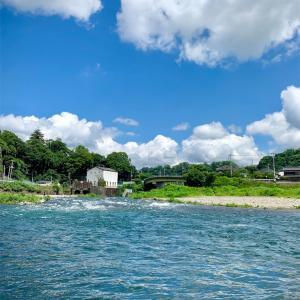 #2019-8【桂川】松留放水口で5時間の釣り