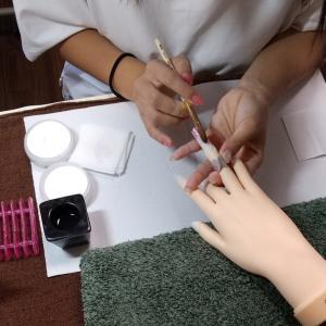 【名古屋市名東区ネイルスクール】ネイリスト検定1級の受験に向けて☆スカルプチュアを揃えていきます
