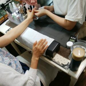 【名古屋市名東区ネイルスクール】ネイリスト検定本番間近!!最後の通し練習でした!
