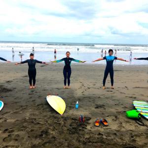 サーフィンスクール再開しました。