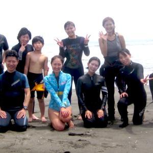 夏休みサーフィンスクール☆千葉