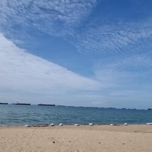 シンガポール海岸散歩
