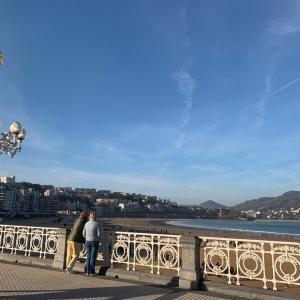 スペインバスク旅3日目①【サンセバスチャン】土曜日朝を楽しんで