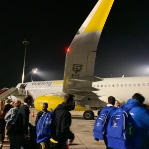 スペインバスク旅4日目①【バルセロナ】ビルバオからバルセロナに早朝LCCで移動
