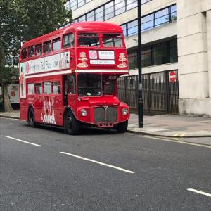 どん底で始まったロンドン滞在