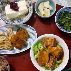 いつも感謝の実家の夕食