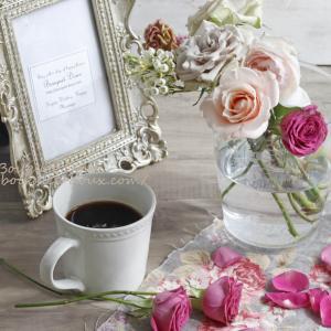 【100均活用】さりげない秋の花飾りのコツと花時間で花の情報集め♪
