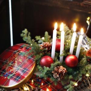 【ダイソー】赤×緑、クリスマスカラーで迎えるイブの夜♪