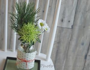 【ダイソー】高見え効果あり! 組み合わせでお正月の花飾り♪