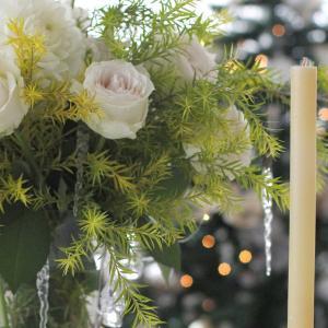 料理&テーブルコーディネートレッスン「ホワイトクリスマス」