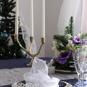 クリスマスイブ、お家ディナーを素敵に