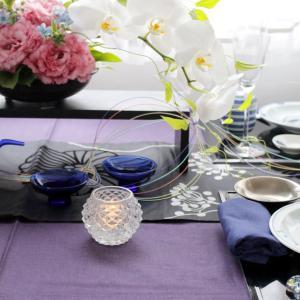 七夕に水引を飾って、初めての和食器コーディネート