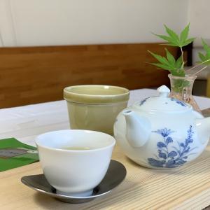 学びの夏、日本茶オンザロック