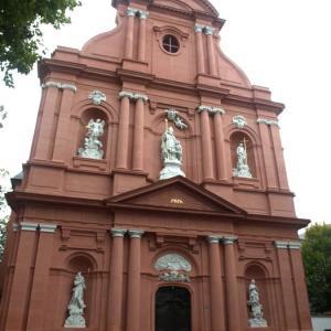マインツ⑧ 破壊された聖クリストフ教会が、そのまま戦争を記録する記念館に生まれ変わっていた