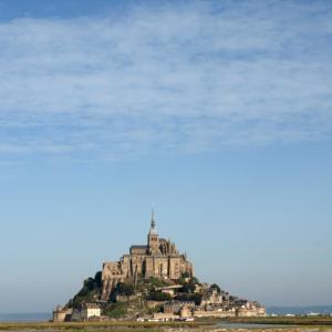 モンサンミッシェル② 聖堂~城塞~~監獄。海のバスティーユ~海上のピラミッド