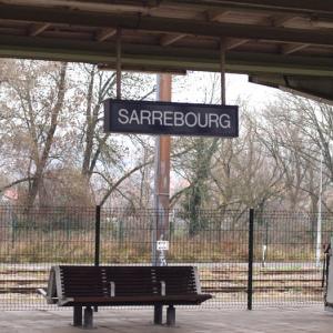 フランス・メッス⑮ シャガールマジックを求めてメッスからサルブールへ