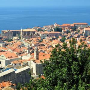 階段紀行・ヨーロッパ クロアチア編① ドブロヴニク。旧市街の城壁に上る急階段を始め、街は階段だらけだった。