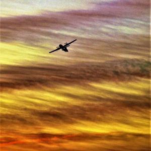 雲を見上げる③ まるで人を虜にするような魅惑的な雲が舞い踊る夕焼けの空