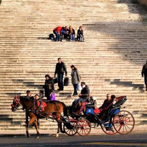 階段紀行・イタリア ローマ編② 歴史を連想させる雄大な階段、騎馬将軍たちのための階段