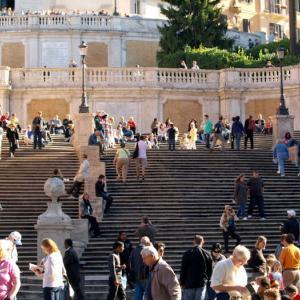 階段紀行・イタリア ローマ編③ 行くたびにオードリーを思い出すスペイン階段