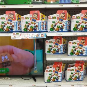経験504:写真いっぱい「レゴマリオ スターターセット」購入レビュー!マリオの表情が変わってしゃべる!子供が夢中です!