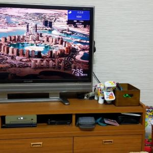 経験550:17畳のリビングに60インチテレビを購入!設置時のテレビの大きさは??