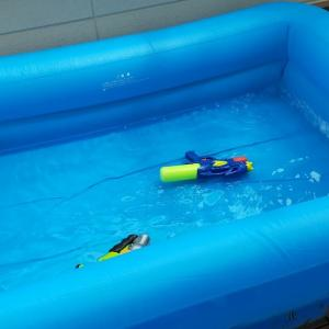経験572:またまた今年もプールを新しく購入!今回は4歳と7歳の子供にシンプルプールを選択しました!