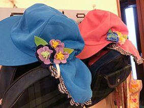 とりあえず今年度の保育園カラー帽子デコ。