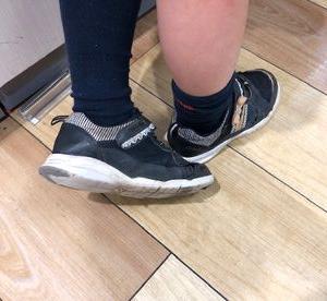 運動靴の消耗が激しい・・・