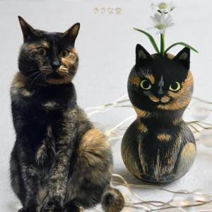 ひょうたんねこのサビ猫さん