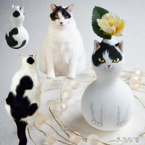 ひょうたんねこの白黒猫さん