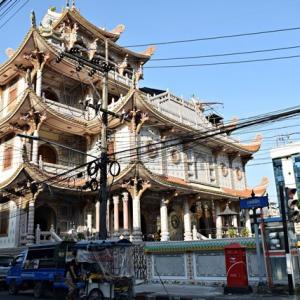 タイ南部ハジャイの街中にあった中華系仏教寺院『慈善寺』