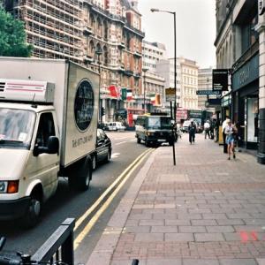 1997年ロンドン ナイツブリッジ周辺