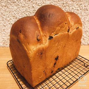 シナモン効いたレーズン食パン♪