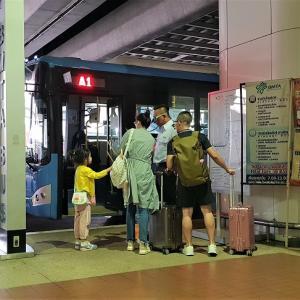 【番外編タイ】ドンムアン空港から市内への行き方 ~バス編~