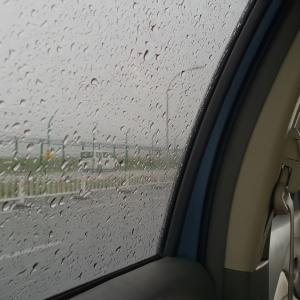 毎日雨のモルディブ