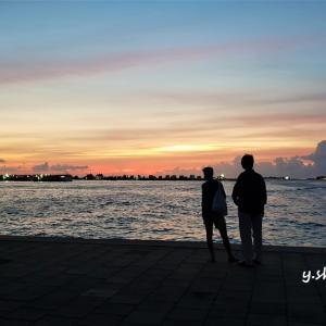 9月30日 モルディブ コロナウィルス最新状況 久しぶりの夕焼け鑑賞