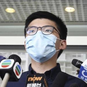 香港立法会選 黄氏、立候補届け出