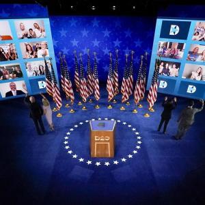 米民主党大会開催、オンラインで盛り上がり欠く