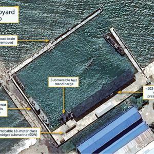 米研究所、北朝鮮SLBM発射準備か