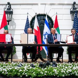トランプ再選で、中東和平は加速する