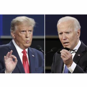最終TV討論会の分析評価、トランプ大統領の大勝利