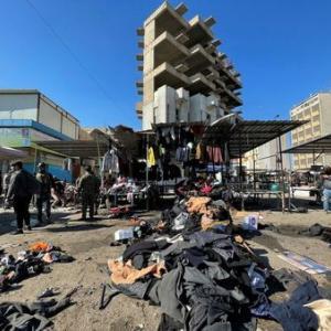 バグダッドで自爆攻撃、32人死亡 イスラム国が犯行声明