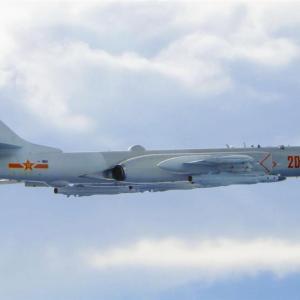 中国機、台湾防空識別圏に進入 前日上回る15機