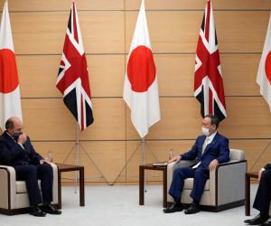 日英防衛相会談、英はインド太平洋地域に2軍艦を常駐と発表