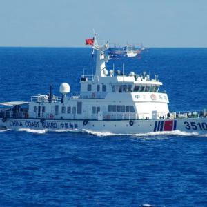 中国による尖閣諸島近辺への侵入頻度の増加により高まるリスク