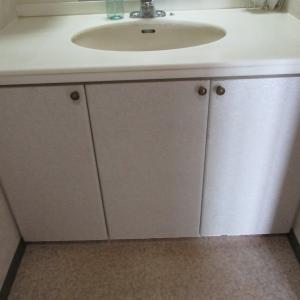 心地良い住まい 19 洗面台の入れ替え