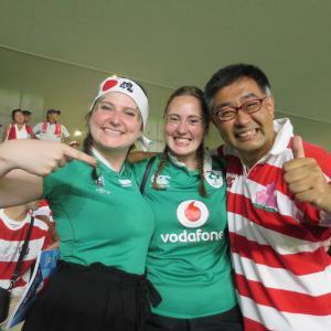 美人&イケメン アイルランドサポーターを激写!ラグビーW杯 日本対アイルランド代表- エコパスタジアム